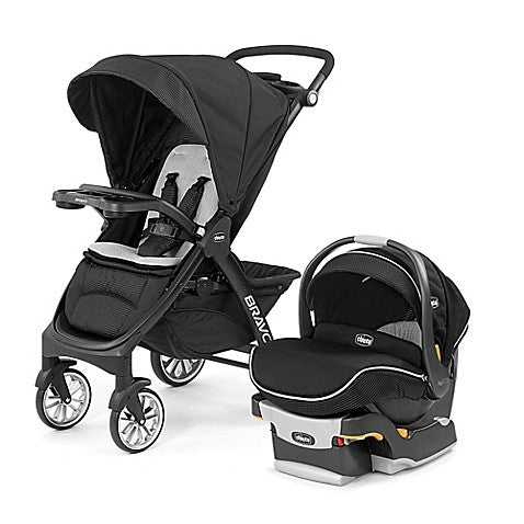 Chicco® Bravo® LE Trio Travel System in Genesis - Baby Strollers Center