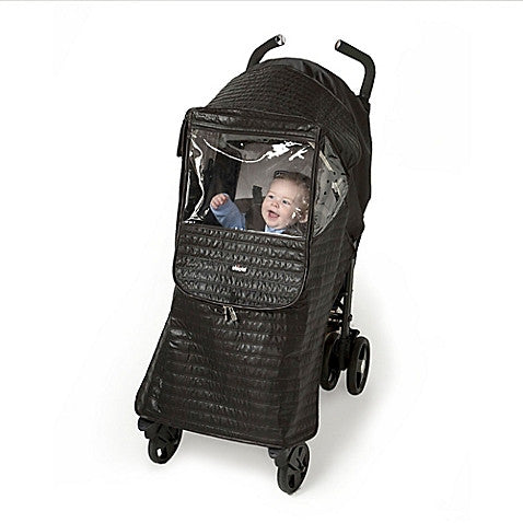 Peg Perego Chicco ®Stroller Rain Cover in Black - Baby Strollers Center