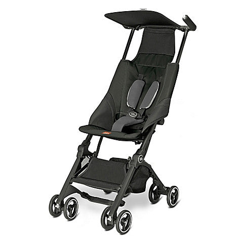 GB®  Pockit Stroller in Monument Black - Baby Strollers Center