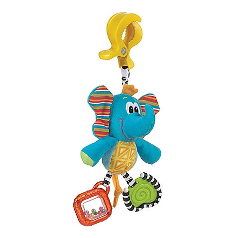 Playgro™ Dingly Dangly Tusk the Elephant Activity Toy - Baby Strollers Center