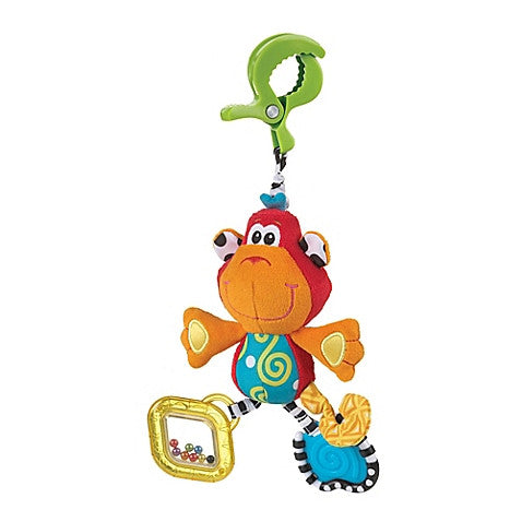Playgro™ Dingly Dangly Curly the Monkey Activity Toy - Baby Strollers Center