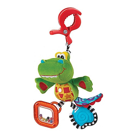 Playgro™ Dingly Dangly Snappy the Alligator Activity Toy - Baby Strollers Center