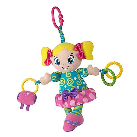 Playgro™ Lucy Doll Activity Toy - Baby Strollers Center