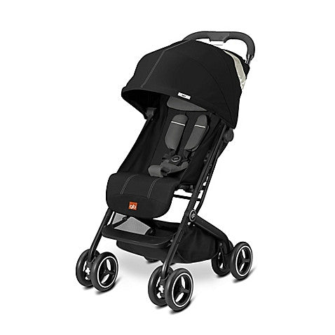 GB Qbit Plus Stroller in Monument Black - Baby Strollers Center