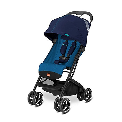 GB® Qbit Plus Stroller in Sea Port Blue - Baby Strollers Center