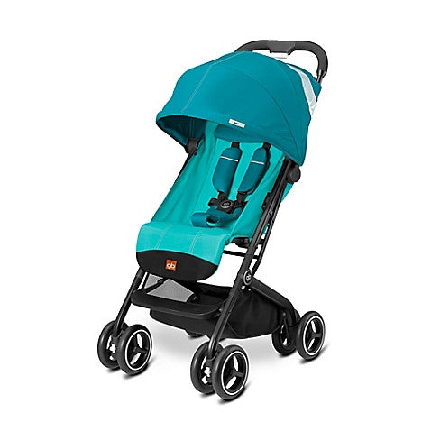 GB® Qbit Plus Stroller in Capri Blue - Baby Strollers Center