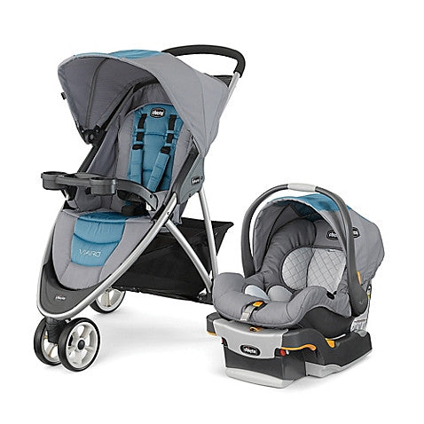 Chicco® Viaro™ Travel System in Coastal - Baby Strollers Center