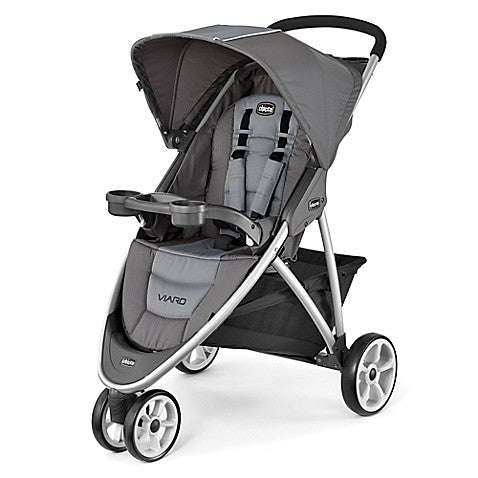 Chicco® Viaro™ Stroller in Graphite - Baby Strollers Center