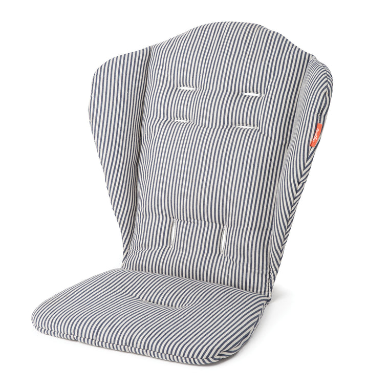 Austlen BABY co. Seat Liner - Primary Seat in Navy Stripe