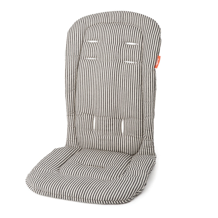 Austlen BABY co. Seat Liner - Second Seat in Black Stripe - Baby Strollers Center