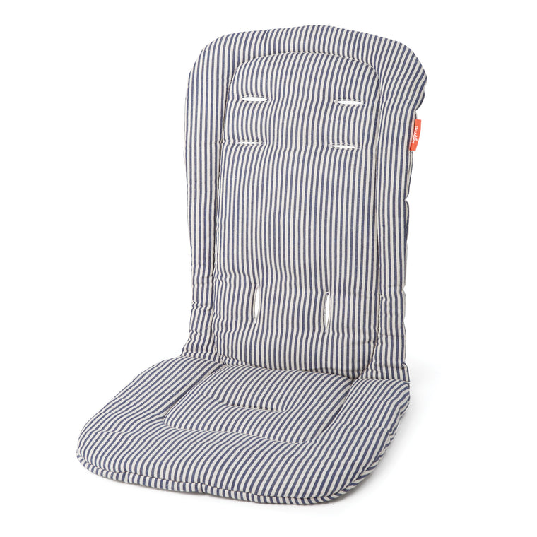 Austlen BABY co. Seat Liner - Second Seat in Navy Stripe - Baby Strollers Center