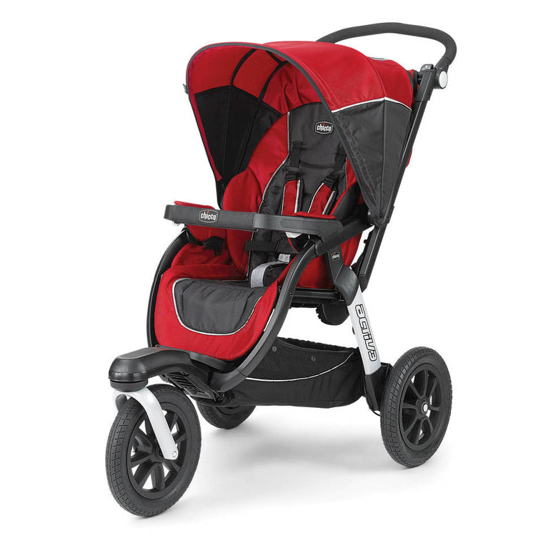 Chicco Activ3® Jogging Stroller - Fire - Baby Strollers Center