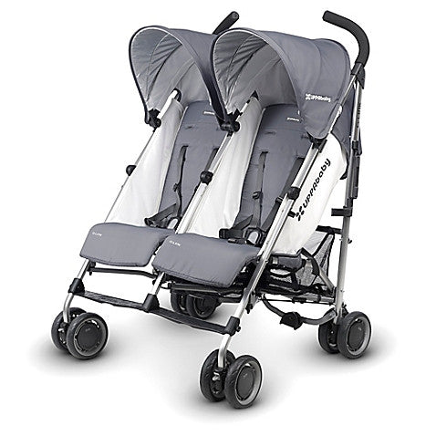 UPPAbaby® G-LINK Double Stroller in Pascal - Baby Strollers Center