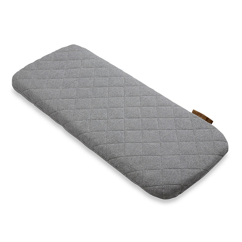 Bugaboo®Wool Mattress Cover in Grey Melange - Baby Strollers Center
