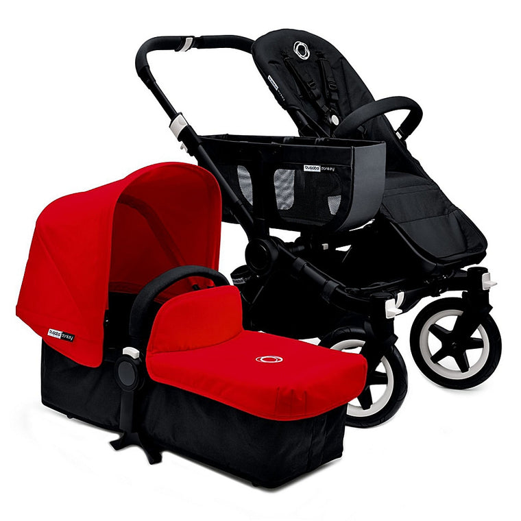 Bugaboo® Donkey 2015 Base Stroller in Black/Black - Baby Strollers Center
