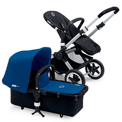 Bugaboo® Buffalo 2015 Base Stroller in Aluminum/Black - Baby Strollers Center