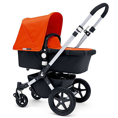 Bugaboo® Cameleon3 2015 Base Stroller in Aluminum/Black - Baby Strollers Center
