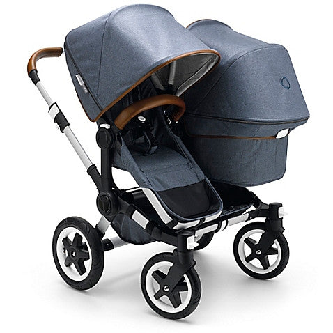Bugaboo®Donkey Weekender Duo Extension Set in Blue - Baby Strollers Center