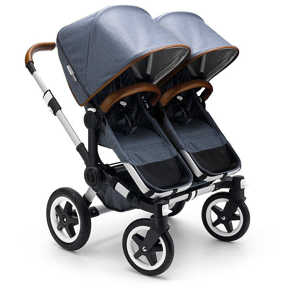 Bugaboo®Donkey Weekender Twin Set in Blue - Baby Strollers Center