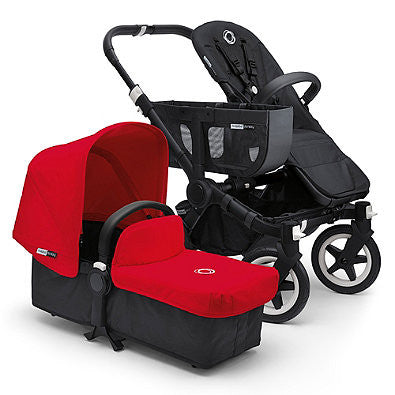 Bugaboo® Donkey 2016 Base Stroller in Black - Baby Strollers Center