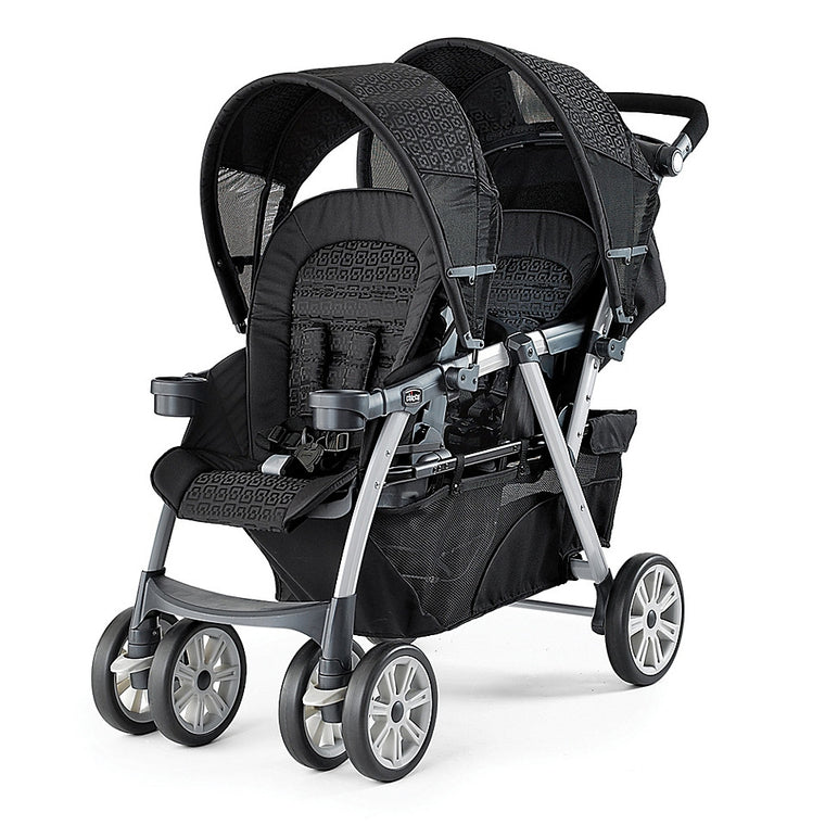 Chicco® Cortina Together Double Stroller in Ombra - Baby Strollers Center