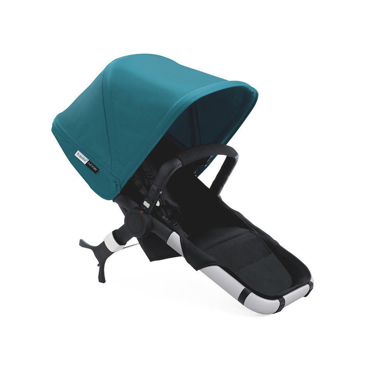 Bugaboo® Runner Seat with Petrol Blue Sun Canopy - Baby Strollers Center