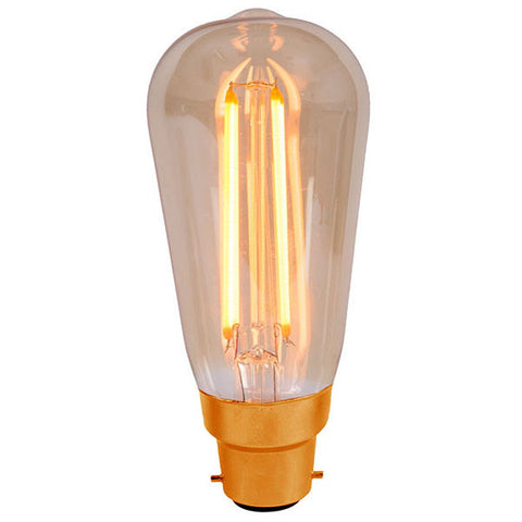 BELL Lighting Vintage 4W LED Squirrel Cage Bulb 01461 / 01462 / 01468 / 01469