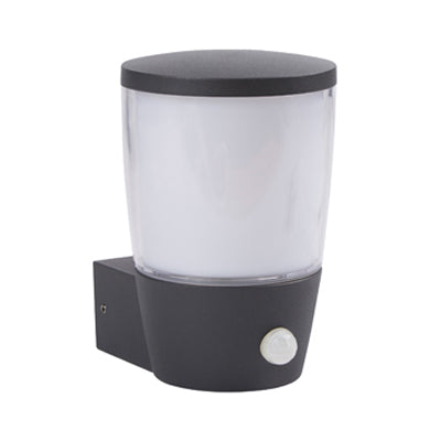 Searchlight Tucson LED Outdoor Wall Light PIR Dark Grey E27