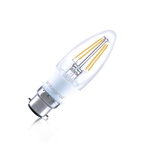 Integral 4.5W LED Candle Omni-Lamp ILCANDE14DC036 / ILCANDB22DC037