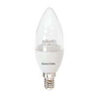 Renesola LED Candle Bulb 6W 470lm E14 Clear Non Dim WW RC006Y0301