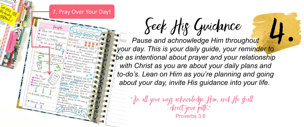 Prayerful Planner - Christian Planner and Prayer Journal