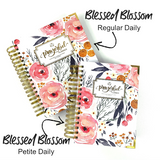 "2021 ""PETITE"" Prayerful Planner - ""DATED"" Blessed Blossom"