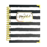 "Prayerful Planner - ""UNDATED"" Black Stripe"
