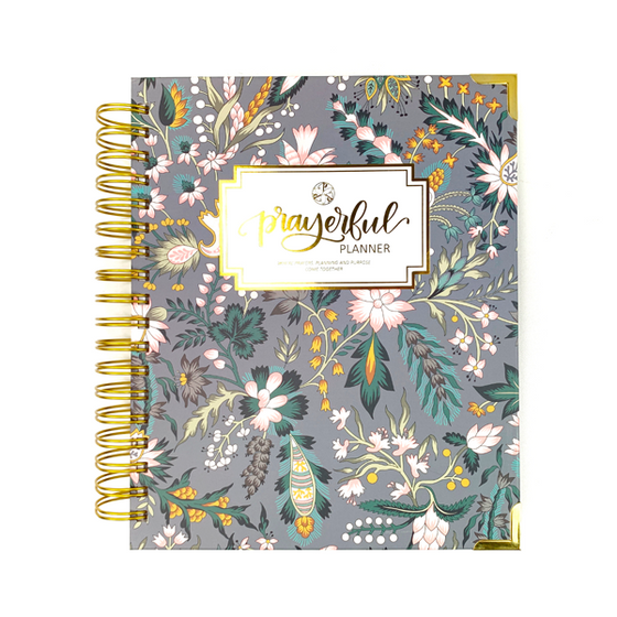 "Prayerful Planner - ""UNDATED"" Classic Chintz"