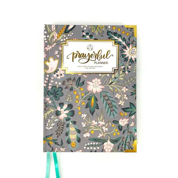 """WEEKLY"" Prayerful Planner - ""UNDATED"" Classic Chintz"