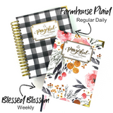 "2021 Prayerful Planner - ""DATED"" Farmhouse Plaid"