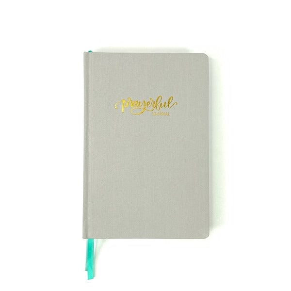 Prayerful Journal - Gray