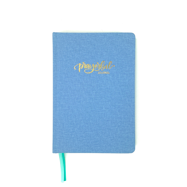 Prayerful Journal - Periwinkle