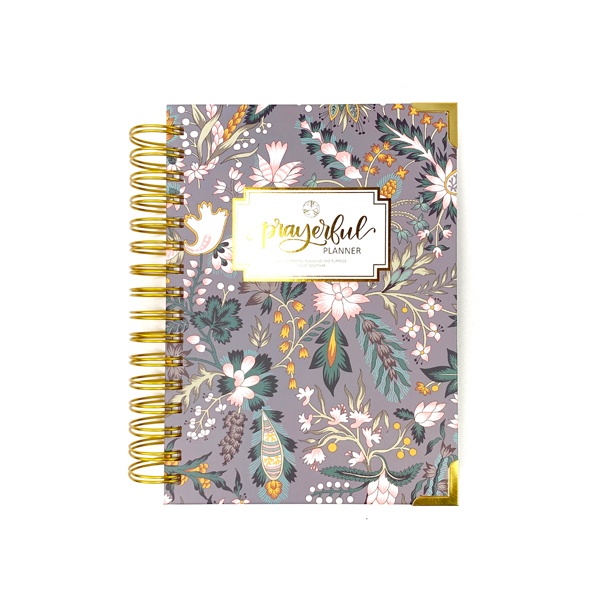 """PETITE"" Prayerful Planner - ""UNDATED"" Classic Chintz"