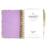 """PETITE"" Prayerful Planner - ""UNDATED"" Royal Blooms"