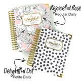 "2021 ""PETITE"" Prayerful Planner - ""DATED"" Delightful Dot"