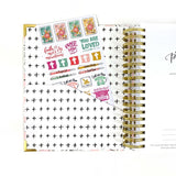 "2021 Prayerful Planner - ""DATED"" Rejoiceful Rose"