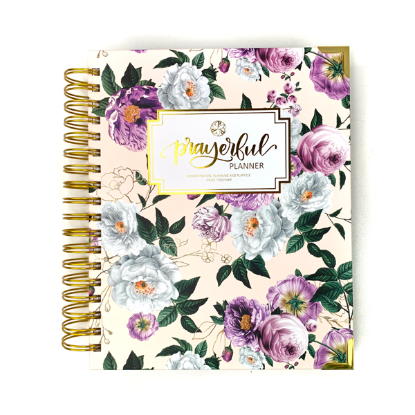 "Prayerful Planner - ""UNDATED"" Royal Blooms"