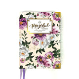 """WEEKLY"" Prayerful Planner - ""UNDATED"" Royal Blooms"