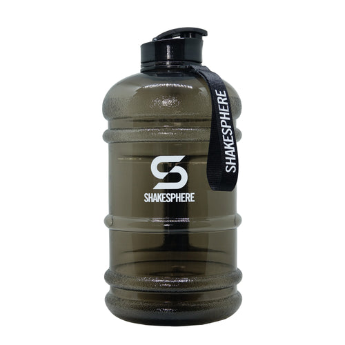 2.2 Liter Water Bottle Black with flip cap