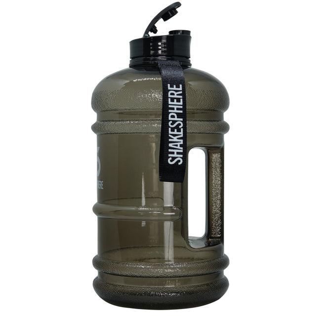 2.2 Liter Water Bottle Black with flip cap - ShakeSphere