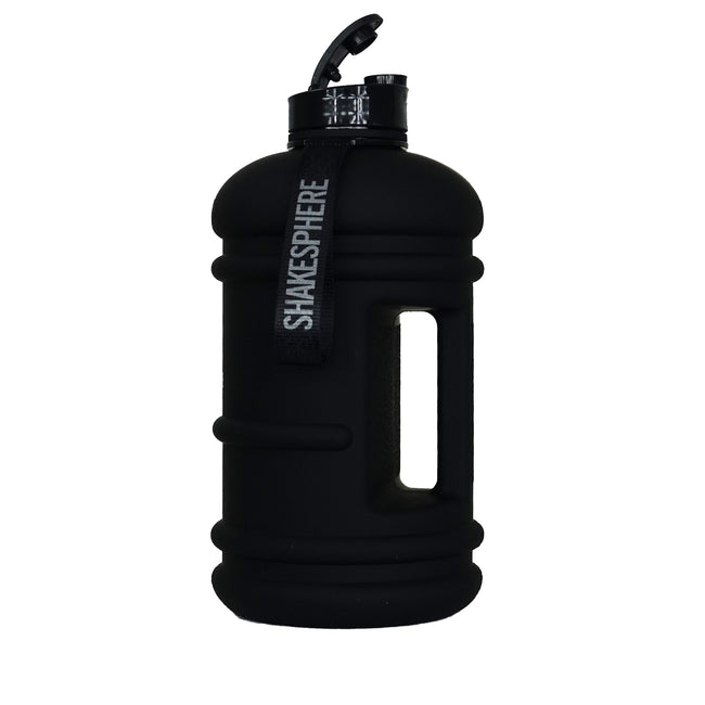2.2 Litre Matte Black Hydration Jug with Black ShakeSphere Logo - ShakeSphere