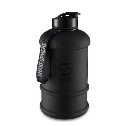 Matte Black Hydration Jug with Black ShakeSphere Logo 2.2 Litre