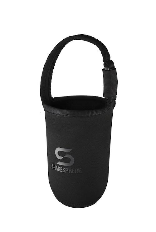 ShakeSphere Tumbler Case Neoprene Black/Grey Logo