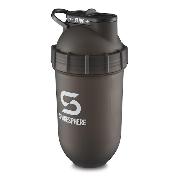 700mls ShakeSphere Tumbler Original Frosted Black/White Logo